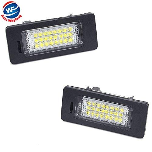 Auto Wayfeng WF® Voiture a mené la Plaque d'immatriculation a mené la Lampe légère 12v Blanc 6000K pour E39 E60 E82 E90 E92 E93 M3 E39 E60 E70 X5 E60 E61 M5 E88