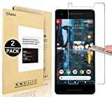 Google Pixel 2 Screen Protector, Vigeer [ 2 Pack ] [0.3mm, 2.5D] [Bubble-Free] [9H Hardness] [Easy Installation] [HD Clear] Tempered Glass Screen Protector for Google Pixel 2