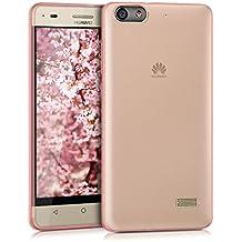 kwmobile Elegante funda ultrafina para Huawei G Play Mini en rosa fucsia