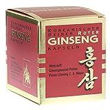 Koreanischer Reiner Roter Ginseng - Kapseln - 100 Stk