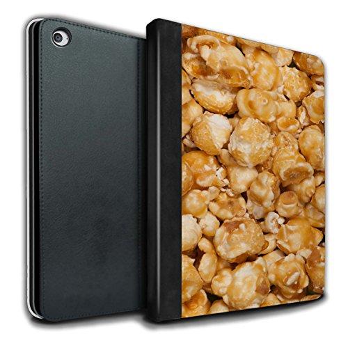 STUFF4 PU Pelle Custodia/Cover/Caso Libro per Apple iPad Air 2 tablet / Butterkist popcorn / Spuntini disegno
