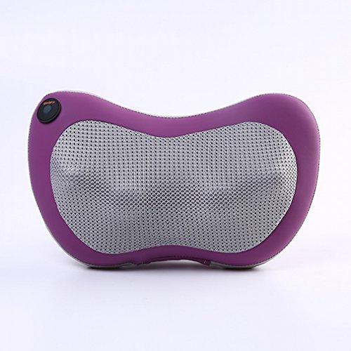 Homedics Handheld-massagegerät (Karosserie Zervikal Massage Schulter und Hals Taille Massage Kissen Elektrische Multifunktionale Haus Massage Kissen,Rose Rot)