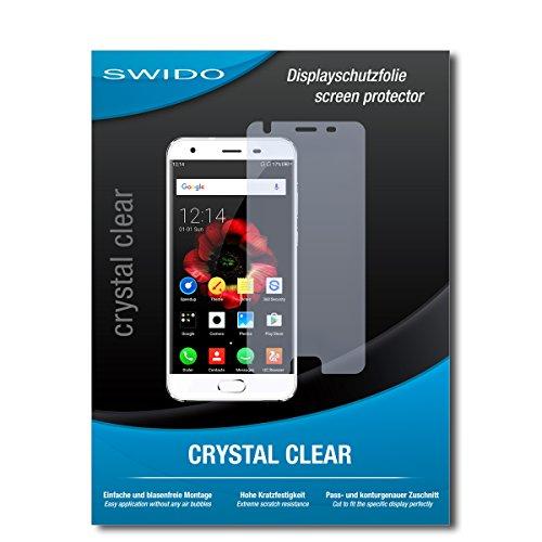 SWIDO Bildschirmschutz für Oukitel K4000 Plus [4 Stück] Kristall-Klar, Hoher Härtegrad, Schutz vor Öl, Staub & Kratzer/Schutzfolie, Bildschirmschutzfolie, Panzerglas Folie