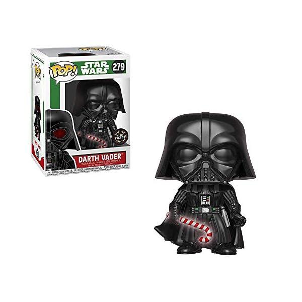 Funko Pop Darth Vader con bastón caramelo – Brilla en la oscuridad (Star Wars 279) Funko Pop Star Wars