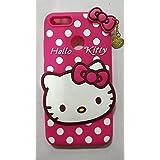 JIZZO REDMI A1 /MI A1 Girl's Back Cover Cute Hello Kitty Silicon With Pendant REDMI A1 / MI A1 - Pink - B078Y59H1F