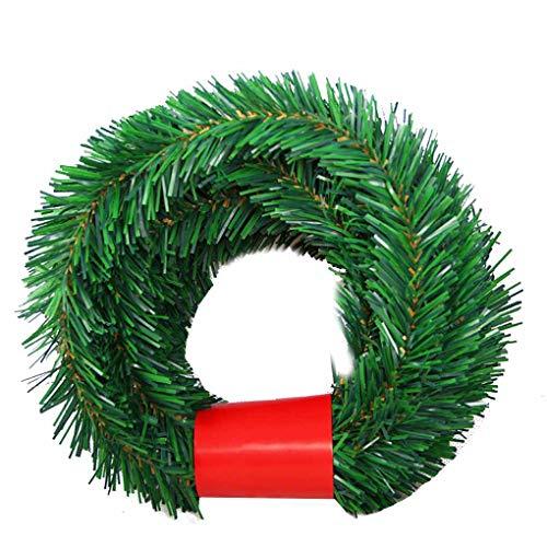 Busirde 5.5 Mide Pino árbol Navidad Guirnalda Festival