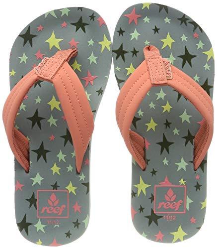 Reef Girls' Little Ahi Flip Flops, Multicolor (Twinkle Star TLS), 4/5 UK