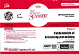 Shuchita Prakashan's Solved Scanner CS Foundation Programmemmed Fundamentals Of Accounting & Auditing Paper – 4 27ED (Green Edition)