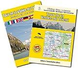 Tour de la Vallée du Trient 1:25.000 Wanderkarte GPS compatible mit Wanderführer