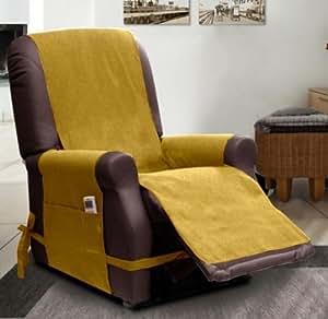 sesselschoner mit relaxfunktion gold k che haushalt. Black Bedroom Furniture Sets. Home Design Ideas