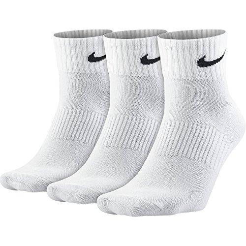 NIKE Socken 3 Paar Lightweight Quarter, weiß, M, SX4706-012