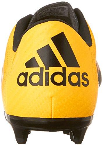 Adidas bambini X 15.3Fg/ag J Calcio Cleat Gold/Black/Shock Pink