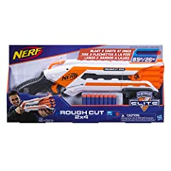 Idea Regalo - Nerf Elite Rough Cut 2X4 (Blaster con Dardi), A1691EUA