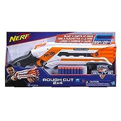 Idea Regalo - Nerf Elite - Rough Cut 2x4 (blaster con dardi)