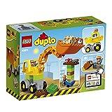 Enlarge toy image: LEGO 10811 Duplo Town Backhoe Loader Construction Set - Multi-Coloured - toddler baby activity product