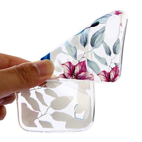 iPhone 7 Hülle, Voguecase Silikon Schutzhülle / Case / Cover / Hülle / TPU Gel Skin für Apple iPhone 7 / iPhone 8 4.7(Weiß Katze 09) + Gratis Universal Eingabestift Specht