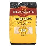 Billington's Fairtrade Natural Light Brown Soft Sugar