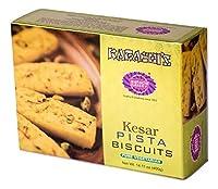 Karachi Bakery Kesar Pista Biscuit Premium Pack, 400g