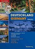 Reiseatlas Deutschland 2020/2021: 1:300.000 (KUNTH Reiseatlanten)