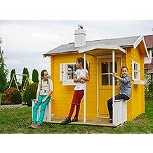 Casitas De Madera Caseta de jardín para niños de madera de abeto Kinder 18 mm-