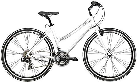 28 Zoll Damen Hybrid Mountainbike 21 Gang Adriatica Boxter FY Lady, Farbe:weiß