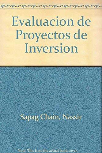 Descargar Libro Evaluacion de proyectos de inversion para empresas de Nassir Sapag Chain