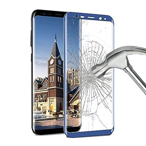 Protection écran Galaxy S8 Plus , ikalula 3D Couverture Complète
