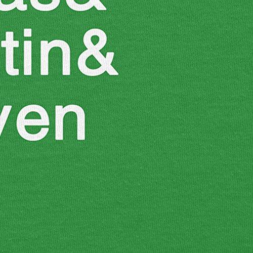 NERDO - Strange Names - Damen T-Shirt Grün