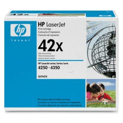 42 X Laserjet (HP - Hewlett Packard LaserJet 4350 (42 X / Q 5942 XC) - original - Toner schwarz - 20.000 Seiten)