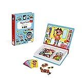 Janod- Magneti'Book Costumi Gioco Educativo, Bambino, J02719