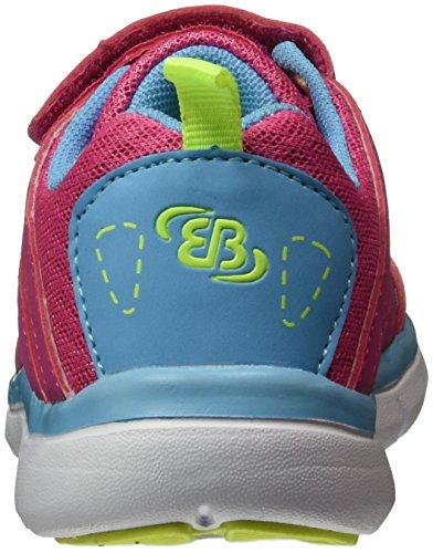 EB kids Mädchen Crater Vs Low-Top Pink (PINK/BLAU/LEMON)