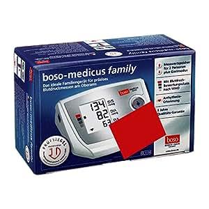 Boso Medicus Family, vollautomatisches Blutdruckmessgerät für den Oberarm mit Universal-Manschette