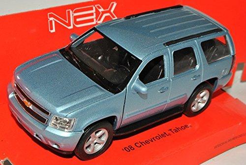 chevrolet-chevy-tahoe-suv-blau-grau-ab-2006-ca-1-43-1-36-1-46-welly-modell-auto-mit-individiuellem-w