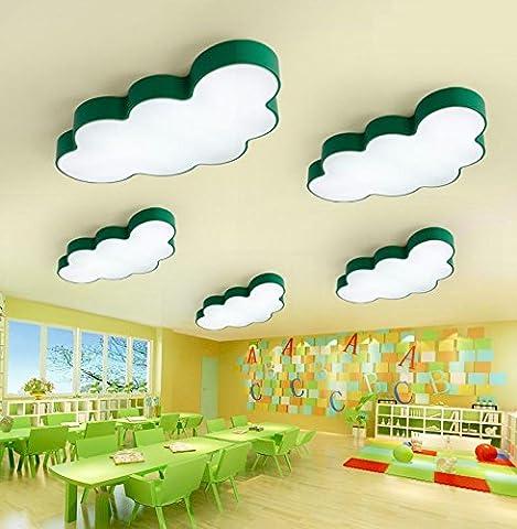 Deckenleuchte Farbe Wolken führte Kinder Augenschutz Kreative Jungen und Mädchen Schlafzimmer Lichter Cartoon Lichter , red , 90cm