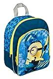 Undercover mit Vortasche, Minions, Circa 31 x 25 x 10 Kinder-Rucksack, 31 cm, Blau