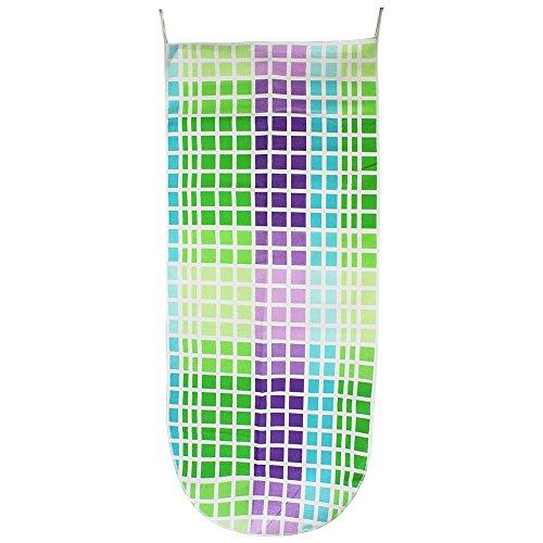 COM-FOUR® XXL Bügeltischbezug für Bügelbretter aus 100% Baumwolle in 6 verschiedene Motive, 130 x 54 cm - 3