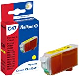 Pelikan Druckerpatrone C47 ersetzt Canon CLI-526Y, Gelb