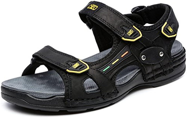 LNGXE Zapatos con Plataforma Mujeres WSXY-L0625 Talón de Cuña con Correa Cruzada Individual Sandalias Mujer Zapatilla... -