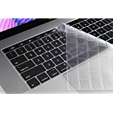 """Oaky Skin Keyboard Cover For Newest MacBook Pro 13 Inch With TouchBar Release 2016 And 2017 """" Model A1706 Ultra-Thin Waterproof Dust-proof Clear Keyboard Protector TPU Clear Keyboard Cover Waterproof Dust-proof Clear TPU Silicone Skin Keyboard Guard"""