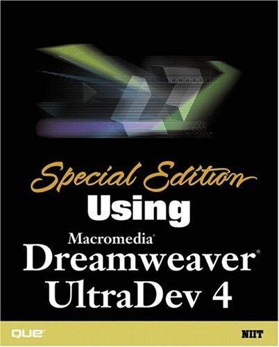 Special Edition Using Macromedia Dreamweaver UltraDev 4 by NIIT, NIIT, Muralimohan, Priya, Shankar, Kalawati, Varghese, (2001) Paperback