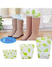 zuolan 1 par de botas Boot Tree Shapers plástico Hormas para zapatos Botas, M(