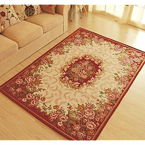 MeMoreCool Collection Contemporáneo exquisitos Jacquard diseño área alfombra con base antideslizante, mesita de noche/dormitorio/salón Alfombra, 47