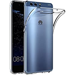 AICEK Coque Huawei P10, Transparente Silicone Coque pour Huawei P10 Housse (5,1 Pouces) Silicone Etui Case