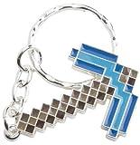Minecraft- Diamond Pickaxe -Schlüsselanhänger-Blau