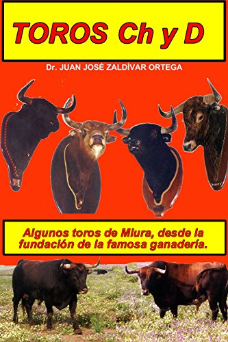 Toros con las Letras Ch y D (Toros Bravos) por Juan José Zaldivar Ortega