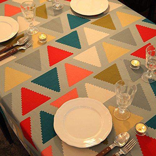 Woo.L.L Amerikanischen Dorf Retro Tischdecke Tisch Wand Tisch rechteckig Couchtisch Wallpaper,140 * 220cm