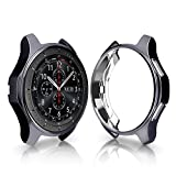 Gaddrt Uhr Schutzhülle, Ultradünne TPU-Beschichtung Schutzhülle für Samsung Galaxy Watch 46mm (Zinn)