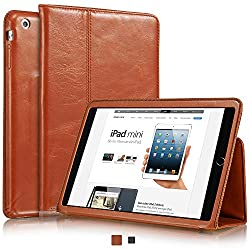 """Zusammenfassung  Das KAVAJ """"Berlin"""" für das iPad mini ist ein wunderschönes, schlankes und elegantes Case aus 100% echtem Leder zum Schutz Ihres geliebten iPads.   Diese Ausführung in dem satten, tiefen Cognacbraun beeindruckt durch seine elegante ..."""