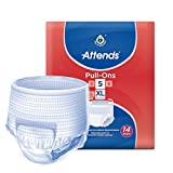 Attends Pull Ons 5XLEinmalhose - für mittlere Blasenschwäche/Inkontinenz–4Packungen von 14