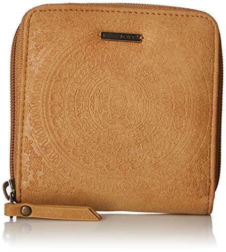 Roxy Damen Wallet Carry a Heart Square, Portemonnaie, camel, Einheitsgröße -